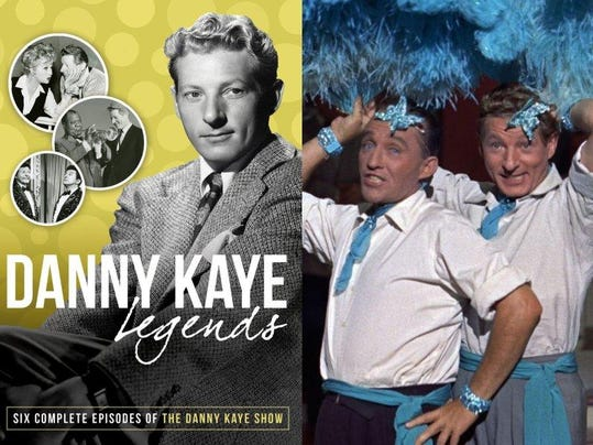 5. DVD cover; Still from 1954's White Christmas with Bing Crosby and Danny K