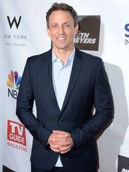 Late Night host Seth Meyers