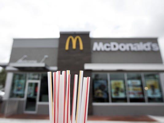McDonald's Straws