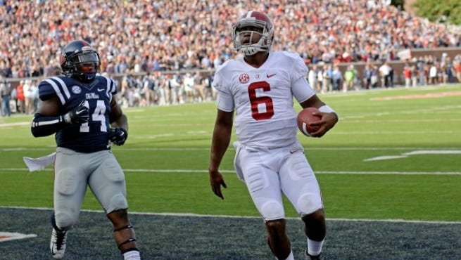 Blake Sims will try to bounce back from his first loss as a starting quarterback today at unranked Arkansas