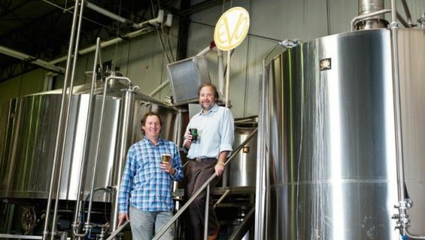 Tom and John Knorr are excited about what the future holds for their brewery.