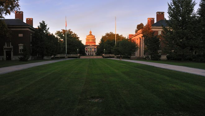 The University of Rochester.