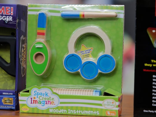 Wooden instruments toy made the annual list of worst toys, at Franciscan Hospital for Children in Boston. The consumer watchdog group has released its annual list of what it considers to be the 10 most unsafe toys as the holiday season approaches.