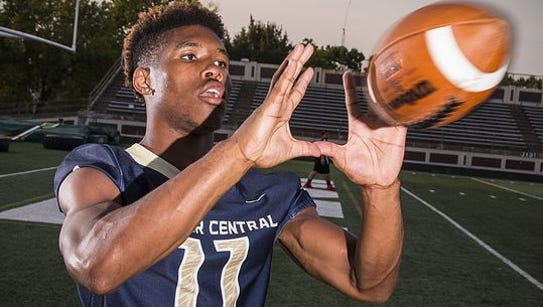 Tyrone Tracy shared offensive player of the year honors