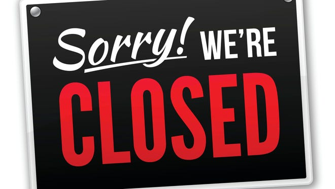 Sorry! We're closed.