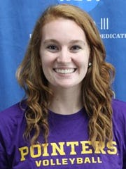 April Gehl was a first team selection for the Pointers.