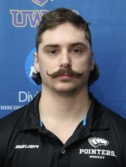 Milosek told his teammates he would grow his mustache until the team lifts the national championship trophy to end the year.