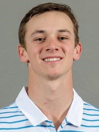MTSU junior golfer Tanner Owens. Owens qualified for the U.S. Amateur Championship at Pebble Beach.