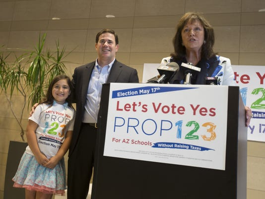 Ducey and Prop. 123