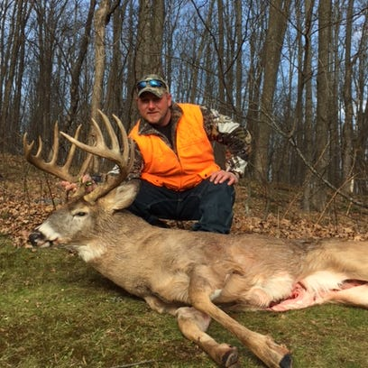 Steve Norrington, shot this 223 pound 14-pointer in Langlade County.