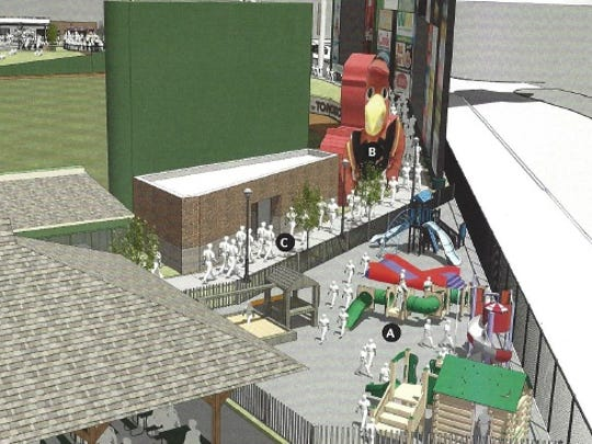 Changes to the Plymouth Avenue side of Frontier Field, as shown here in this 2014 rendering, remain on the table.