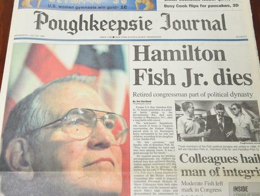 Front page of Hamilton Fish Jr.