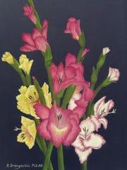 "Nancy Brangaccio, ""The Best of Summer,"" pastel, 4""x7.25"""