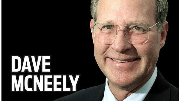 Columnist Dave McNeely