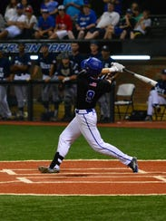 Louisiana Tech third baseman Chase Lunceford delivered