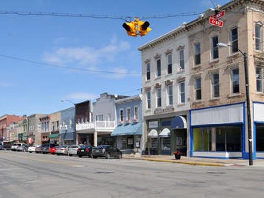 Port Clinton downtown
