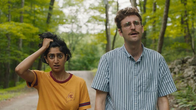"Sunita Mani and John Reynolds star as hapless millennials faced with an invasion in ""Save Yourselves!"""