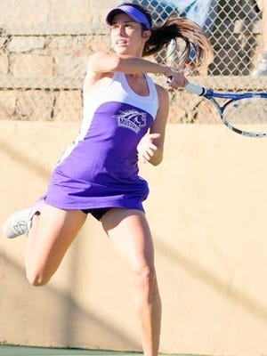 The WNMU women's tennis team has moved up to eighth in the latest ITA rankings.