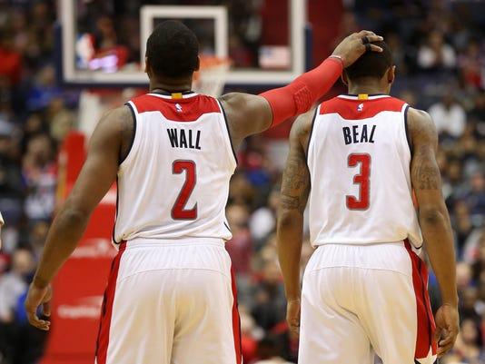 USP NBA: TORONTO RAPTORS AT WASHINGTON WIZARDS S BKN WAS TOR USA DC