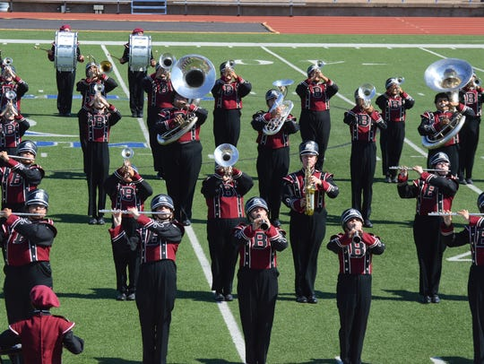 The Bronte High School band performs Oct. 21.