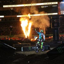 AMA Supercross at the Edward Jones Dome on March 29, 2015.