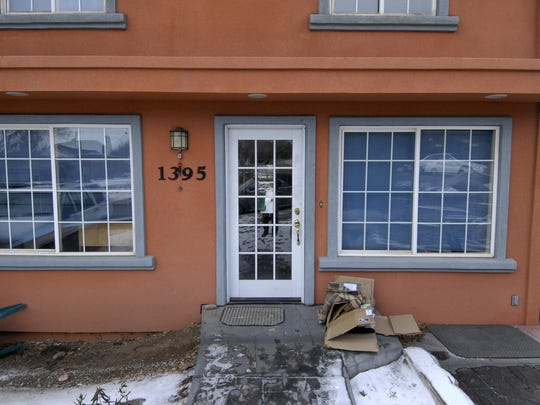 Published caption: DAVID B. PARKER/RENO GAZETTE-JOURNAL FILE Brianna Denison was last seen going to sleep in this home on MacKay Court near the University of Nevada, Reno.  ooo  Brianna Denison was last seen going to sleep in this home on MacKay Court near the UNR campus. She was sleeping on a couch right next to the front door. Photo taken Tuesday, Jan. 22, 2008. Photo by David B. Parker.