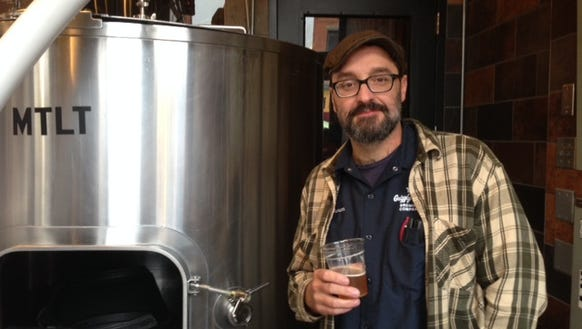 Duncan Williams, head brewer at Grizzly Peak Brewing