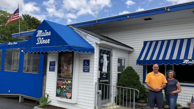 Jim and Karen MacNeill, who own Maine Diner on Route One in Wells, have kept their business busy and afloat during the COVID-19 pandemic by shipping their famous food to out-of-staters.