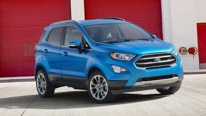 Ford will sell the EcoSport in the U.S. starting in 2018.