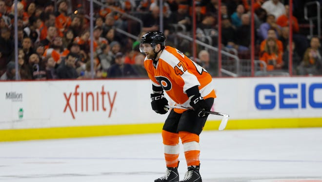 Flyers defenseman Andrew MacDonald finally feels like one mistake won't cost him his spot in the lineup.