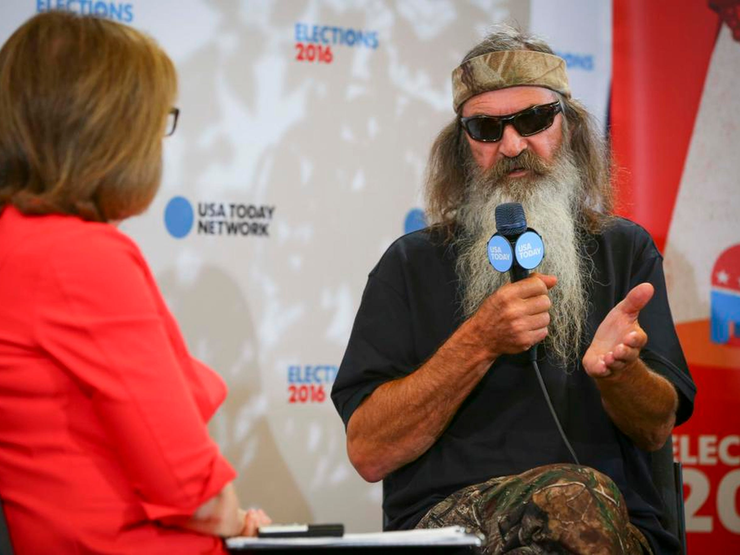 Susan Page interviews Phil Robertson of Duck Dynasty