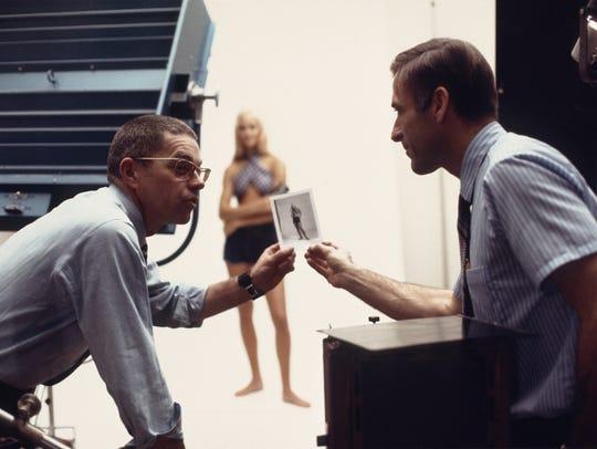Neil Montanus, right, and art director Hamilton Driggs