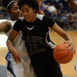 Caitlin Jenkins scored 19 points in her final game at Huntington.