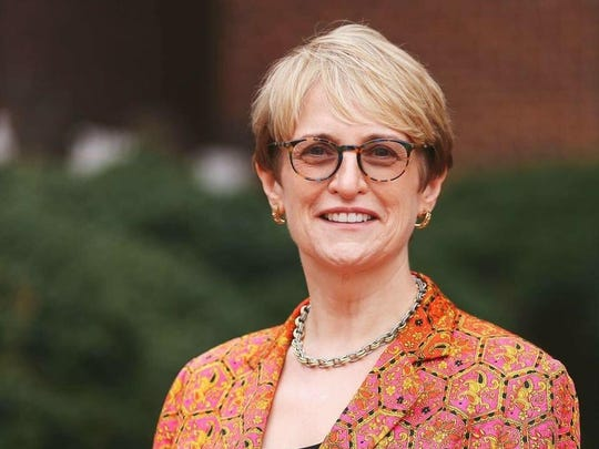 Lorraine Sterritt, named the 17th president of St. Michael's College — the first woman to serve in that post — on Jan. 26, 2018.