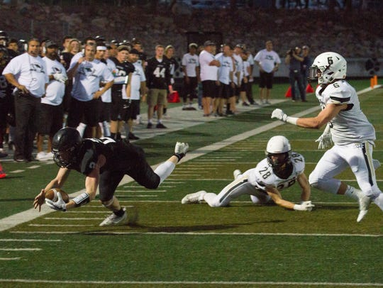 Pine View football takes on Desert Hills Thursday,