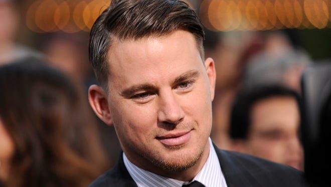 "Channing Tatum arrives at the Los Angeles premiere of ""22 Jump Street"" at the Regency Village Theatre."