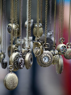 Pocket watches and all manner of jewelry, furniture and other collectibles will be for sale at the Million Dollar Antique Show.