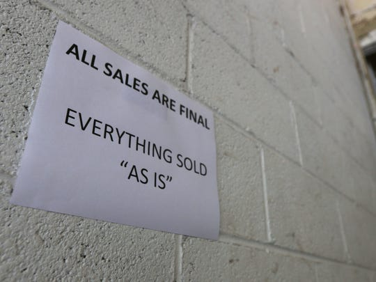 All items for sale at the Stevens Point surplus sale are final, there are no guarantees that items will function properly.