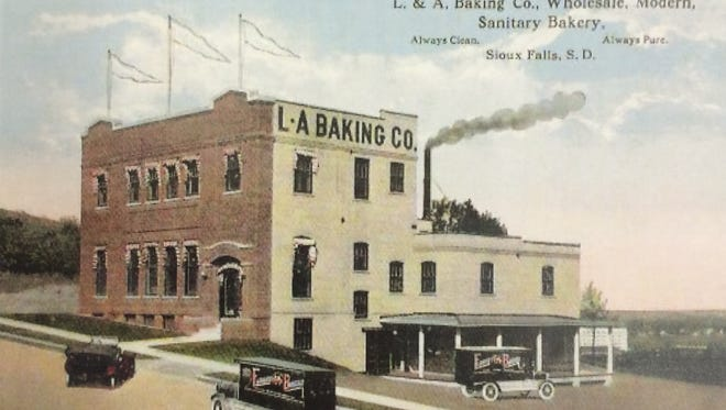The L&A Baking Co. was the site of an attempted robbery in November 1922.