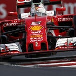 You'll have to get up early to see it, but Sebastian Vettel and the rest of the Formula One field will race in Hungary on Saturday and Sunday.