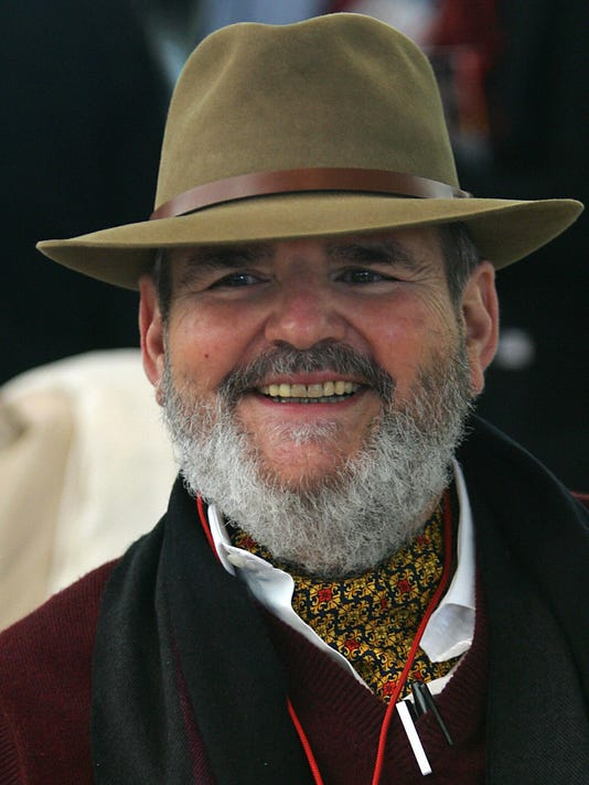 US chef Paul Prudhomme listens during th
