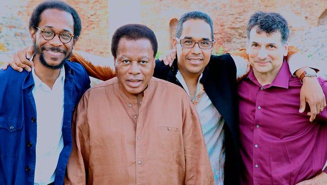 Wayne Shorter Quartet: (left to right) Brian Blade, Wayne Shorter, Danilo Perez, John Patitucci.