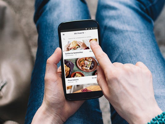 Image Result For Ubereats Delivery App