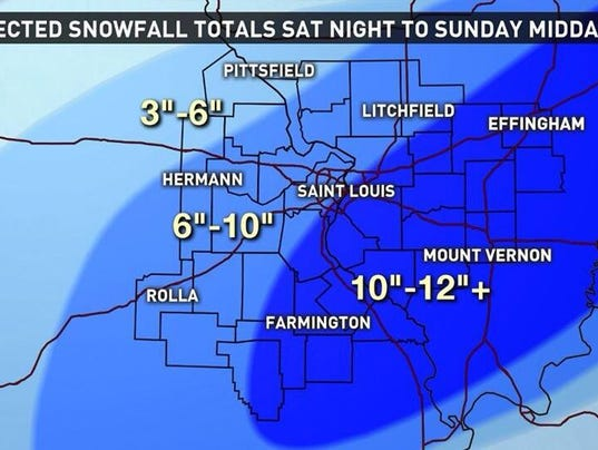 What to expect: More winter weather for St. Louis area