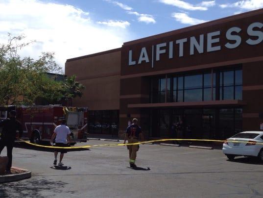 LA Fitness leak