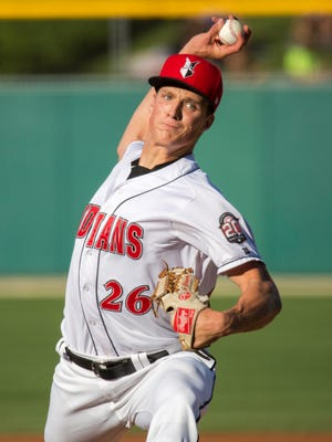 Indianapolis Indians pitcher Tyler Glasnow was named a Triple-A All-Star.