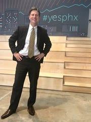 Phoenix Mayor Greg Stanton at Galvanize.