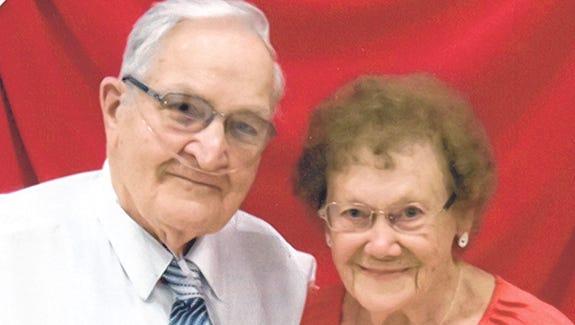 Arthur (Pat) and Evelyn Arbogast 90th Birthdays