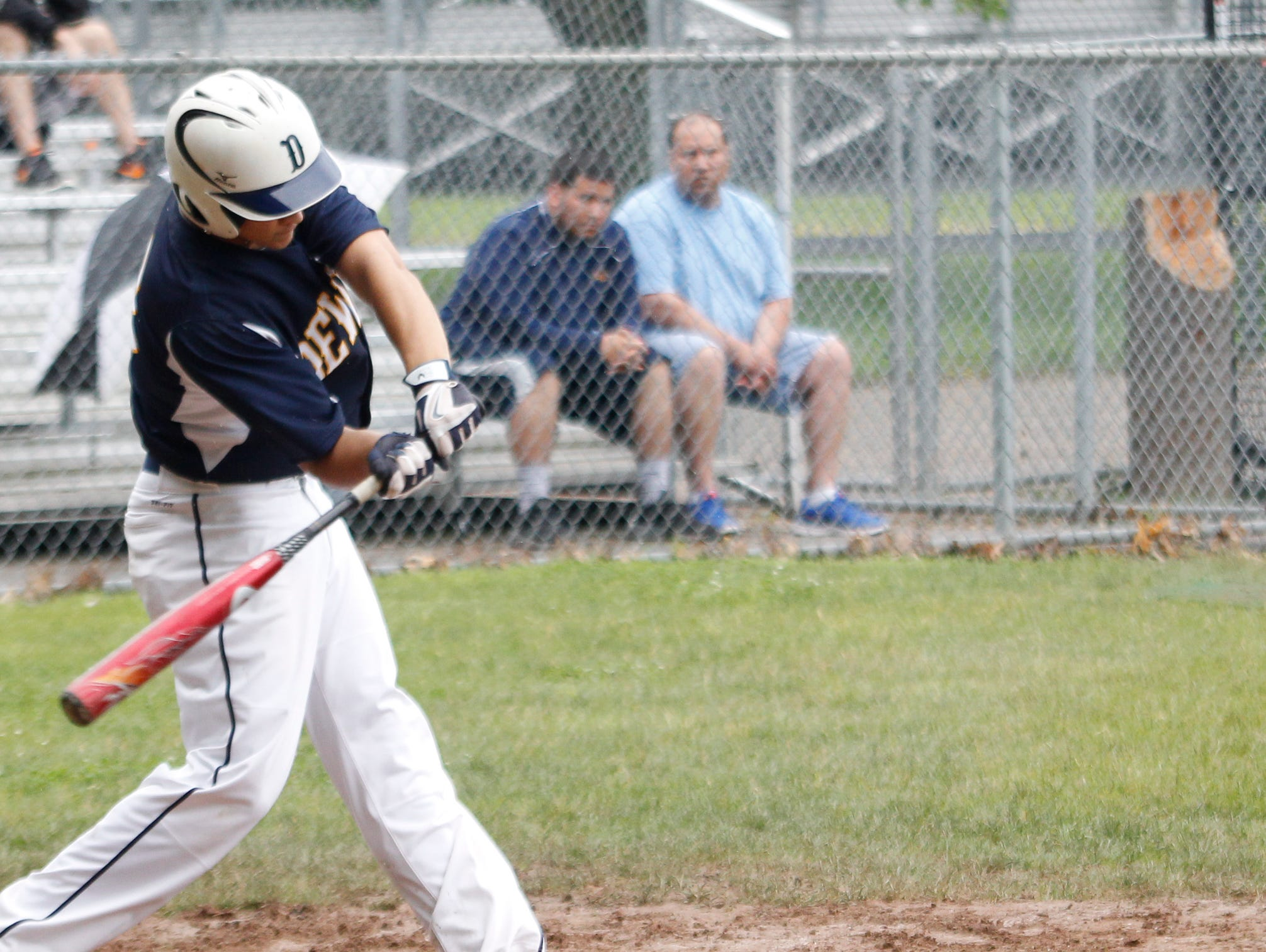DeWitt's Will Nagel ranks among the area's leaders in home runs and RBI.