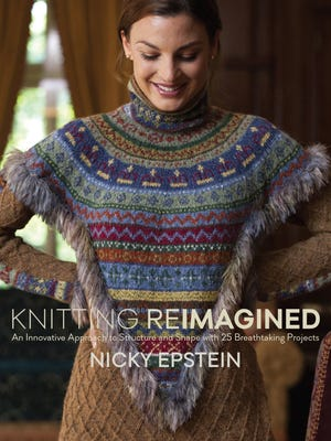 Nicky Epstein's new book, Knitting Reimagined, went on sale this week.